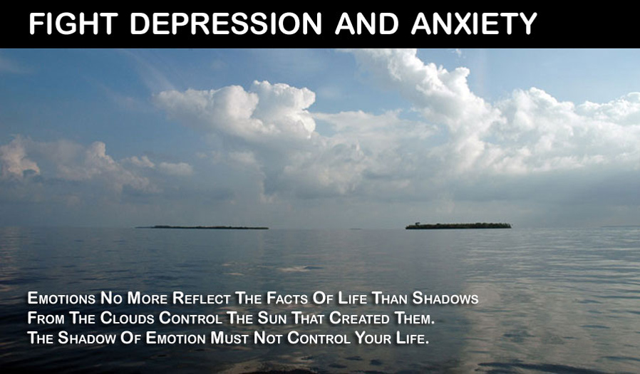 Fight depression and anxiety - Say goodbye to depression and hello to a positive mind.